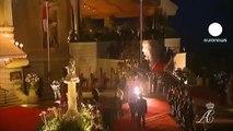 Final night of celebrations in Monaco wedding extravaganza