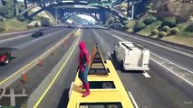 Spiderman In GTA 5!? - Grappling Hook Mod - GTA 5 Gameplay Highlights