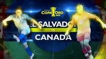 El Salvador 0 vs Canada 0 7/8/2015 2015 CONCACAF Gold Cup Copa de Oro