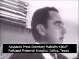 November 22, 1963 - Malcolm Kilduff announces the death of President John F. Kennedy