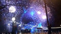 London 2011 Countdown Fireworks at London Eye (Westminster)