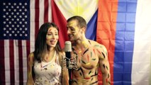 Pretty Russian girl sings FILIPINO song _Hanggang_ w_David DiMuzio   love  romantic romance songs / chansons d'amour de romance romantique  HD