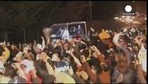 Versöhnliche Begrüßung bei Papstbesuch in Bolivien