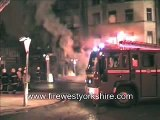 Delayed Backdraft at 4th Alarm fire
