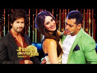 Shahid Kapoor Jhalak Dikhhla Jaa 8 | Salman Khan & Kareena Kapoor promote Bajrangi Bhaijaan