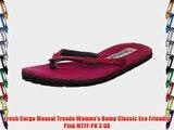 Fresh Cargo Maasai Treads Women's Hemp Classic Eco Friendly Pink MTFF-PK 3 UK