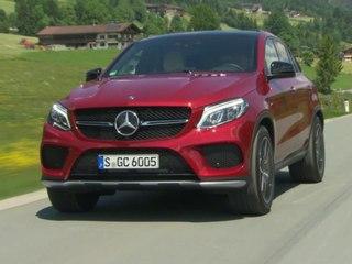 Mercedes GLE coupé : 1er contact en vidéo