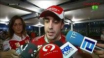 Fernando Alonso declaraciones tras el GP Abu Dhabi 2010