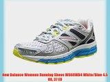 New Balance Womens Running Shoes W860WB4 White/Blue 4.5 UK 37 EU