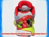 New Balance Womens W1260SR3 Silver/Red Running Shoes 4.5 UK 37 EU