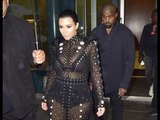 A Pregnant Kim Kardashian Is Mobbed By Fans At The CFDA Awards