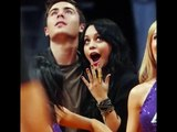 Zac Efron and Vanessa Hudgens watching the NBA Game Lakers vs Charlo!!So CUTE!