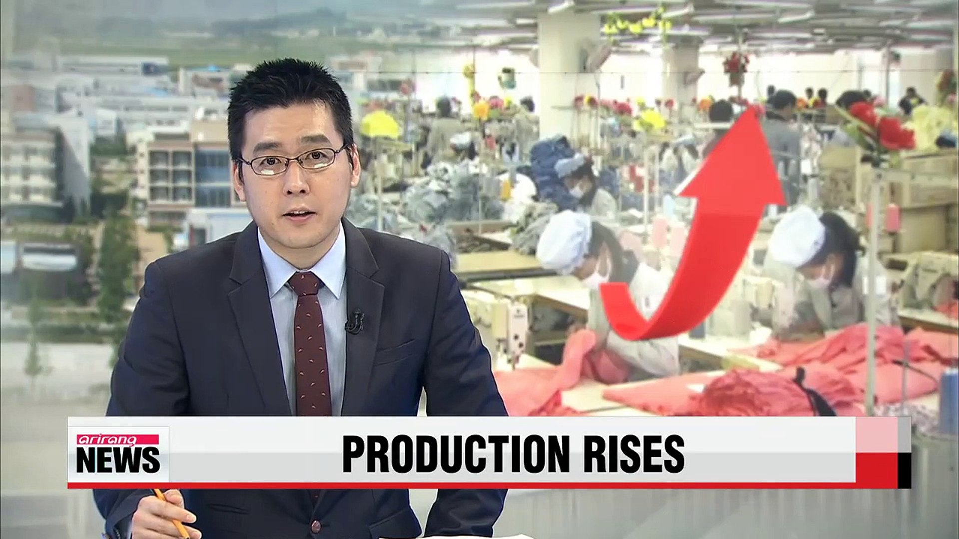 Production at Kaesong complex rises 25% despite wage tussle
