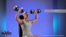 XMark  Adjustable Dumbbells  - Demonstration and great P90X workout