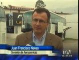 Buses importados desde China transportarán a viajeros al nuevo Aeropuerto de Quito