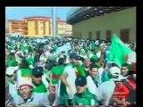 Algérie vs Egypte-Supporters algériens au Soudan.