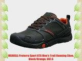MERRELL Proterra Sport GTX Men's Trail Running Shoe Black/Orange UK7.5