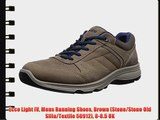 Ecco Light IV Mens Running Shoes Brown (Stone/Stone Old Silla/Textile 50912) 8-8.5 UK