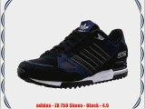adidas - ZX 750 Shoes - Black - 4.5