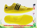 ADIDAS adizero Throwstar Allround Adult Field Shoes Yellow/Black UK10