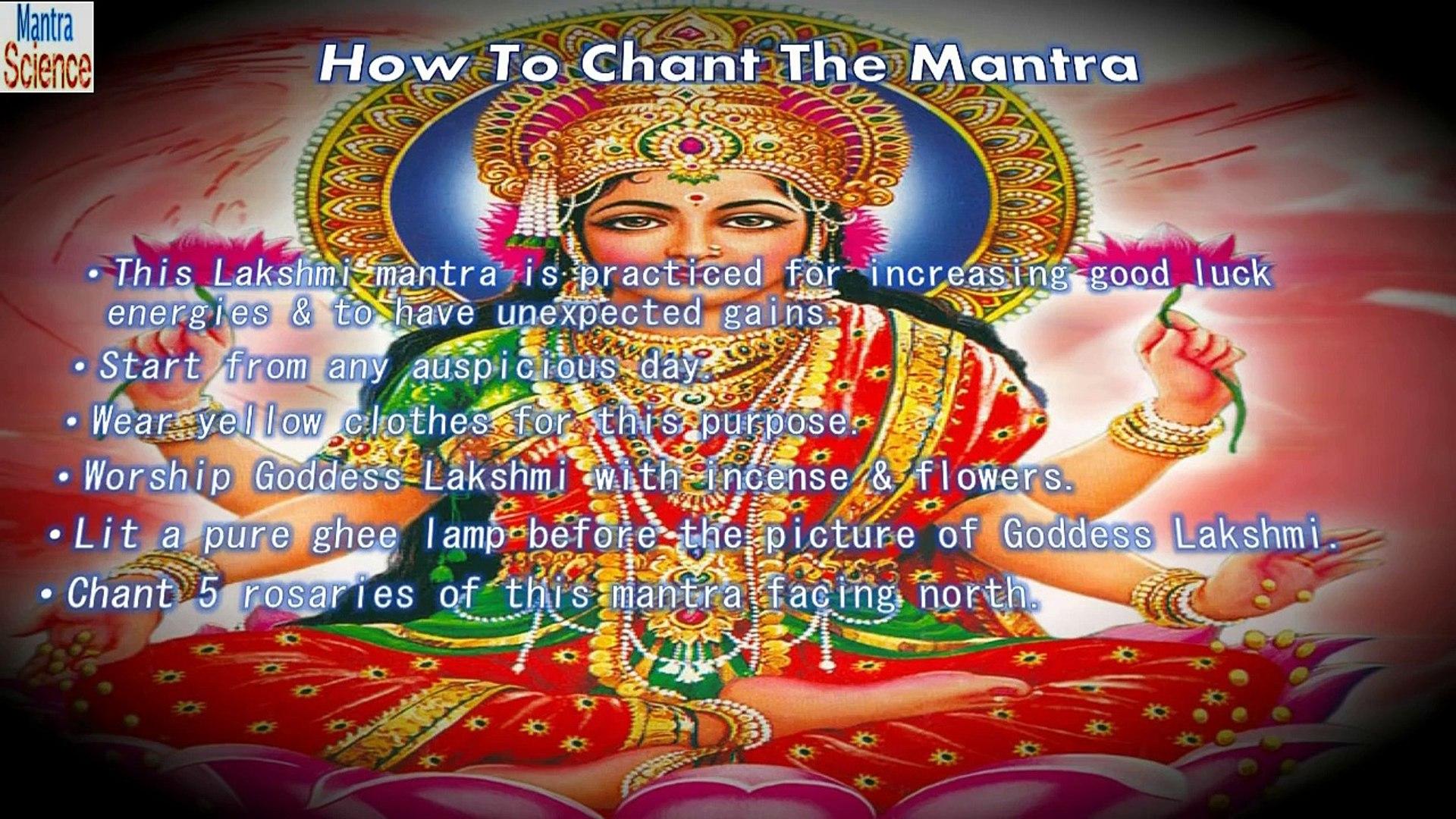 Dhan Prapti Mantra