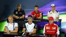 F1 2015 British GP Great Britain Silverstone Thursday Full Drivers Press Conference
