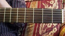 Como tocar acordes de guitarra para principiantes: Sostenidos menores