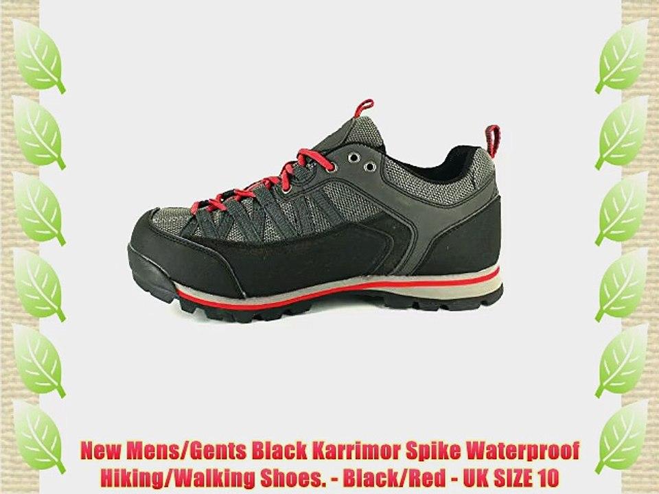 Karrimor Mens Aspen Low Walking Shoes Trekking Hiking Waterproof Trainers