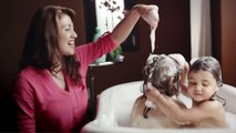 NO MORE TANGLES® Baby Hair Care Products | 2014 JOHNSON'S® Baby Commercial - La Familia de Hoy