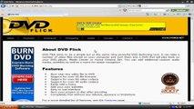 Burn Videos To DVD Using DVD Flick