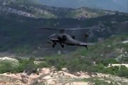 Rocket Launch - AH-64 Apache Attack Helicopter in action - Live Fire - US Army Korea - Aviation