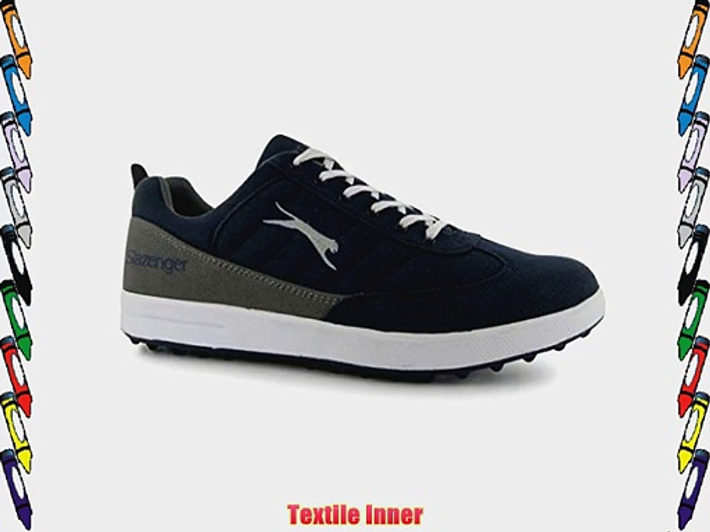 Slazenger Womens Ladies Pace Lace Up Sports Shoes Trainers Pumps Sneakers