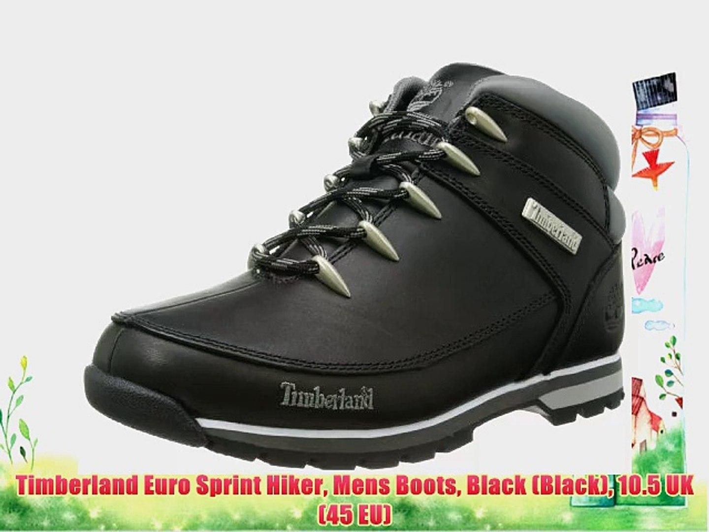 Timberland Euro Sprint Hiker Mens Boots Black (Black) 10.5 UK (45 EU)