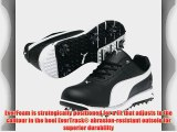 Puma 2013 Faas Trac Golf Shoes Black/White 10