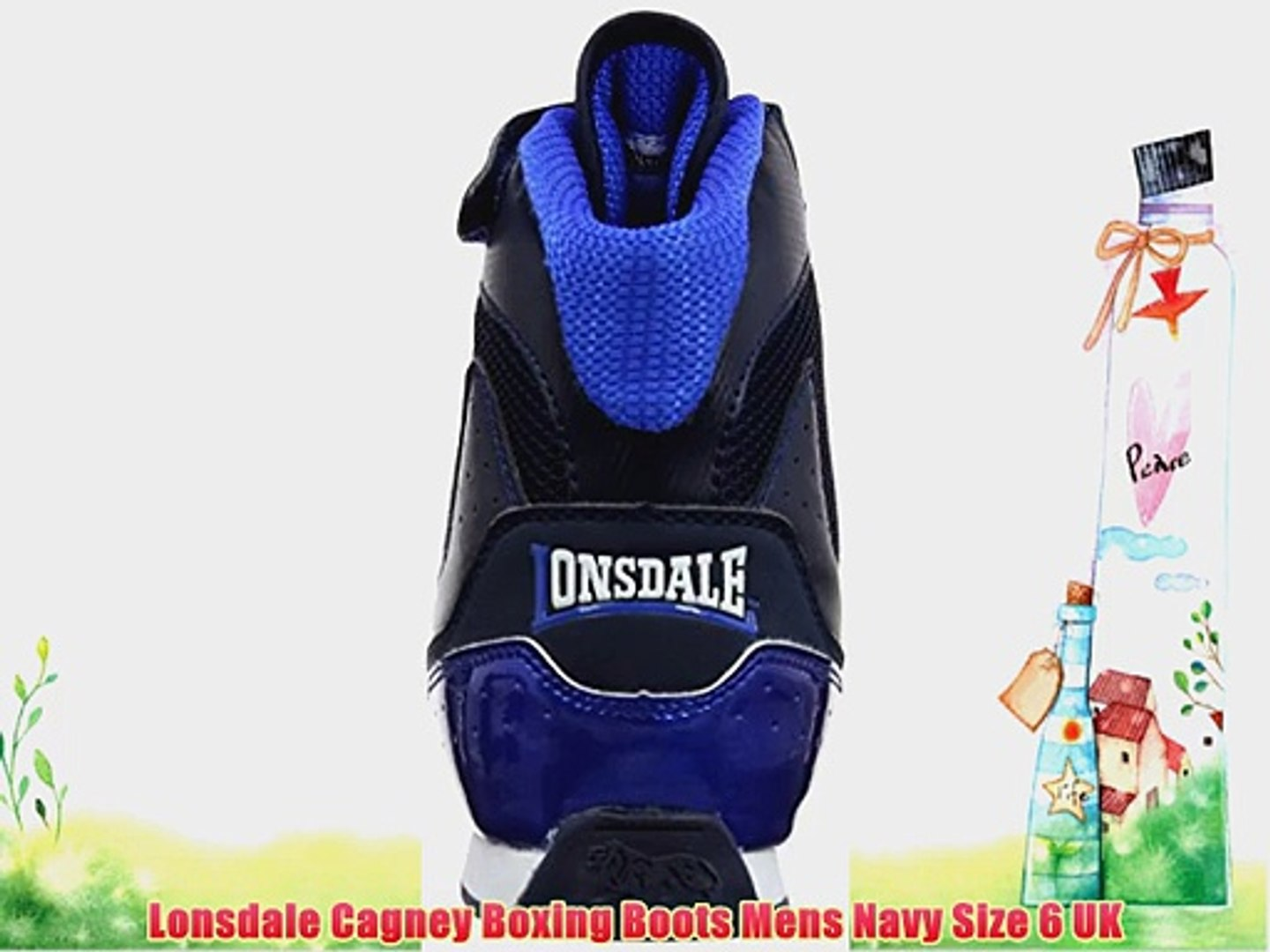 Lonsdale Mens Cagney Shoes Mid Top Boxing Boots