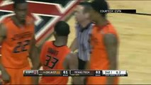 Raw: Oklahoma State Star Marcus Smart Shoves Fan