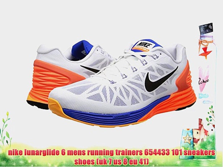 gloria Contradicción Bloquear  nike lunarglide 6 mens running trainers 654433 101 sneakers shoes (uk 7 us  8 eu 41) - video Dailymotion