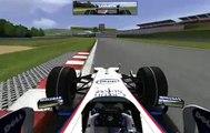 TheRetroRacer @ rFactor - BMW Sauber F1.08 Autodrom Most