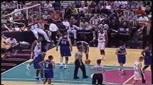 Dirk Nowitzki 40 pts,16 reb, Tim Duncan 32pts,20 reb, playoffs 2001 mavs vs spurs game 5