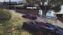 GTA 5 Funny Moments - CRAZY WALLRIDES (GTA 5 Online Funny Moments)
