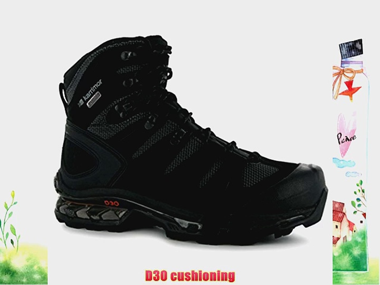 5a20e684c09 Karrimor KSB Pioneer Mens Walking Boots[9Black/Charcoal]
