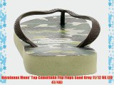 Havaianas Mens' Top Camuflada Flip Flops Sand Grey 11/12 UK (EU 47/48)