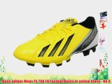 Mens adidas Mens F5 TRX FG Football Boots in yellow black - UK 9