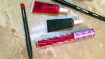 Lip Art Tutorial: Red & Black Ombre Lips
