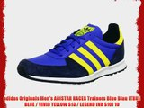 adidas Originals Men's ADISTAR RACER Trainers Blue Blau (TRUE BLUE / VIVID YELLOW S13 / LEGEND