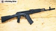 KSC AK74M Gas Blowback Rifle GBB  (System 7 Two)