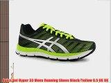 Asics Gel Hyper 33 Mens Running Shoes Black/Yellow 8.5 UK UK
