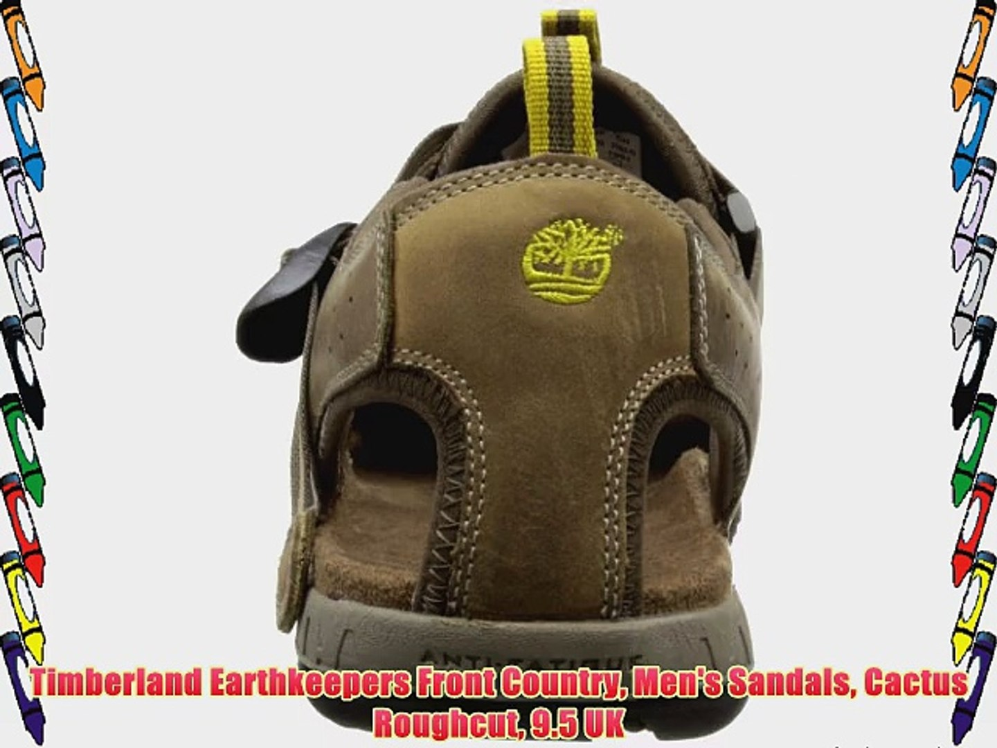limpiar Labor hidrógeno  Timberland Earthkeepers Front Country Men's Sandals Cactus Roughcut 9.5 UK  - video dailymotion