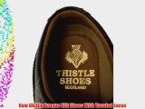 New Thistle Ghillie Brogue Kilt Shoes - UK 9.5