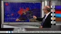 Google Earth à la soirée électorale sur Radio-Canada (w/ subs)